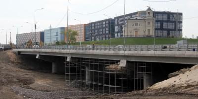 Петербургское шоссе, мост через Пулковку