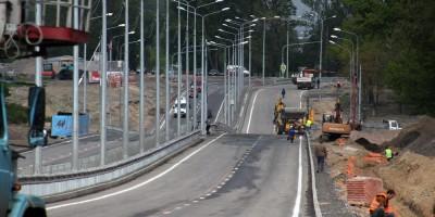 Петербургское шоссе после реконструкции