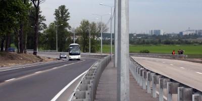 Петербургское шоссе, повороты