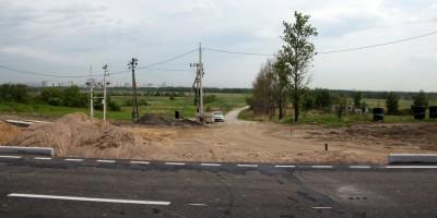 Поворот на Шушарскую дорогу