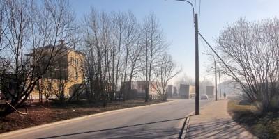 Прогонная улица у станции Волковская