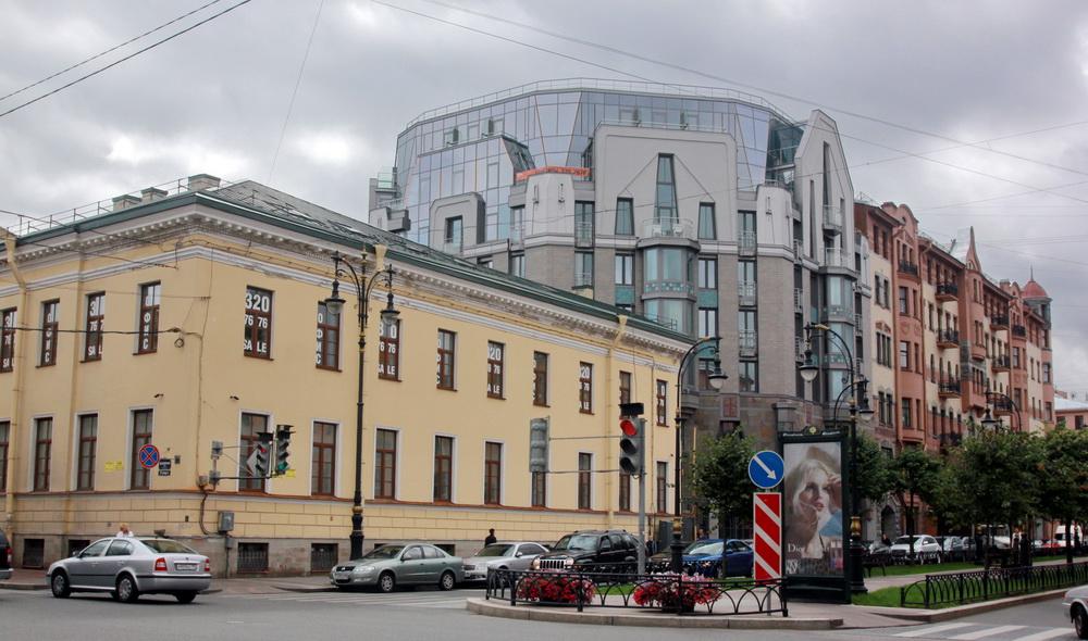 Проспект Чернышевского, 4, жилой дом
