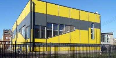 Пристройка к спортшколе на Лиговскому, 208