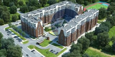 Проект застройки жилого комплекса «Английская миля»