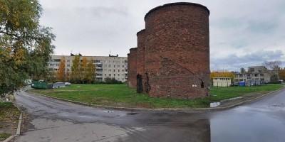 Шушары, силосные башни