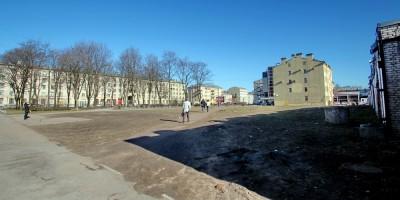 Сквер на Прилукской улице
