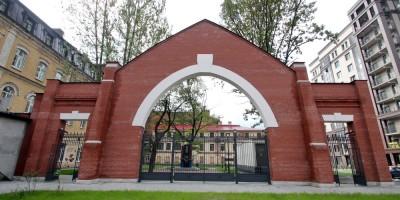 Заставская улица, арка