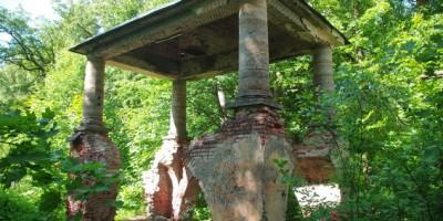 Краснодолинный павильон в Павловске