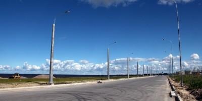 Балтийский бульвар, новый участок