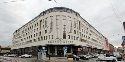 Бизнес-центр на улице Ефимова, 4а