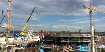 Строительство «Лахта-центра»