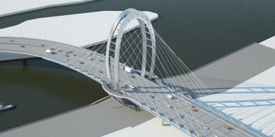 Мост у Серного острова