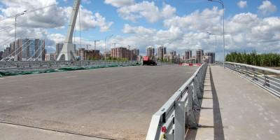 Мост в створе проспекта Героев