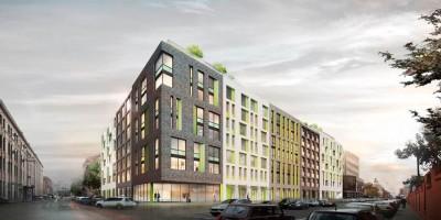 Проект апарт-отеля на Херсонской улице