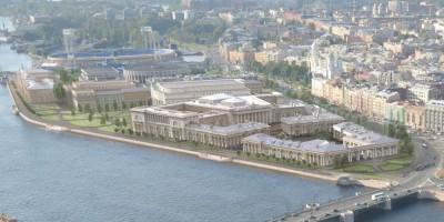 Проект комплекса Верховного суда в Петербурге