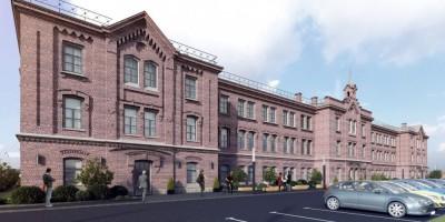 Проект реконструкции Канатной фабрики