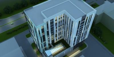 Проект здания на Софийской