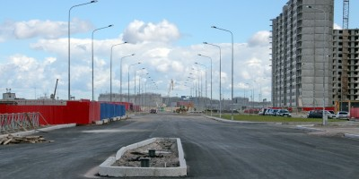 Проспект Патриотов, новый участок