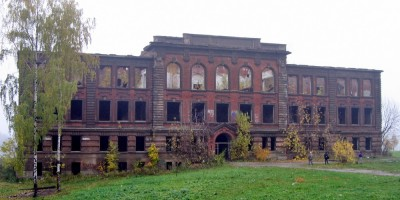Рыбацкий проспект, 18, заброшенное училище