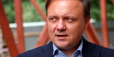 Сергей Макаров на стройке