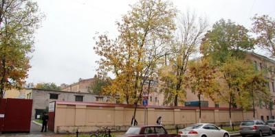 Сквер на 2-й линии Васильевского острова