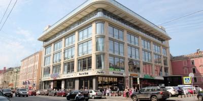 Торговый центр Olympic Plaza на Стремянной улице, 21