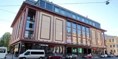 Торговый центр со станцией метро Звенигородская
