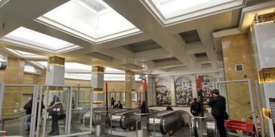 Эскалаторный зал Спасской
