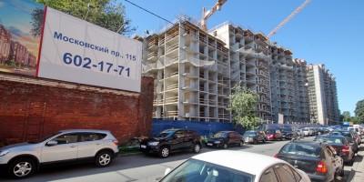Заставская улица, строительство жилого дома