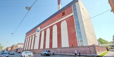 Здание закрытого распределительного устройства Центральной ТЭЦ на Новгородской улице, 11
