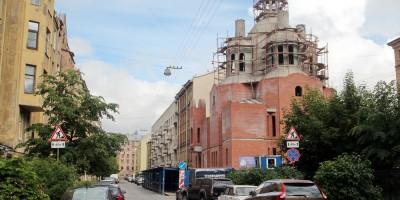 Церковь Ксении Петербургской на Лахтинской улице