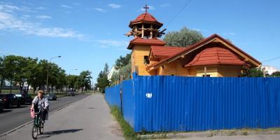 Церковь на проспекте Народного Ополчения