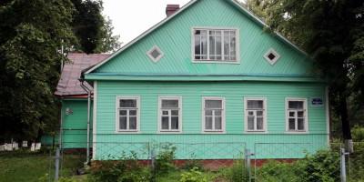 Дом священника церкви Святого Александра Невского в Усть-Ижоре на Шлиссельбургском шоссе, 217