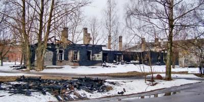 Динамо, Пионерская улица, 2, после пожара