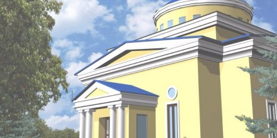 Проект храма в Стрельне