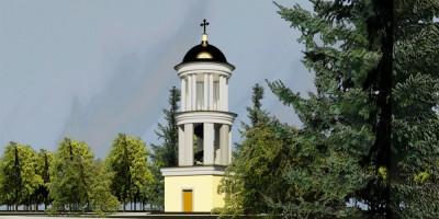 Проект колокольни в Стрельне