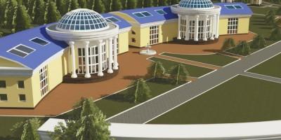 Церковная школа у Стрельнинского кладбища