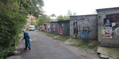 Гаражи на Зверинской улице