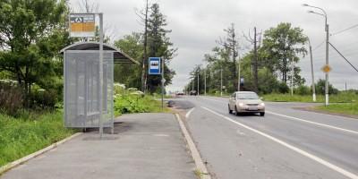 Красносельское шоссе, автобусная остановка