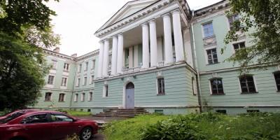 Медсанчасть завода Калинина на улице Одобевского, 10
