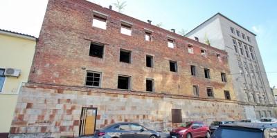 Михайловский переулок, 4, недостроенное здание