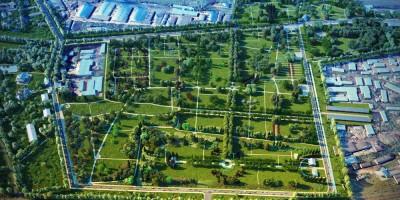 Парк на Митрофаньевском кладбище
