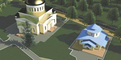 Проект православного центра на Нижней дороге