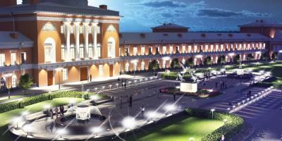 Сквер на Конюшенной площади