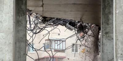 Снос железобетонных перекрытий жилого дома