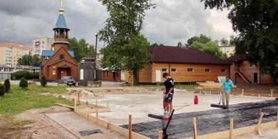Строительство воскресной школы на проспекте Стачек