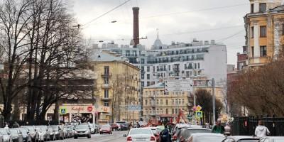 Улица Льва Толстого у излома
