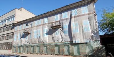 Улица Швецова, 30, заброшенное здание