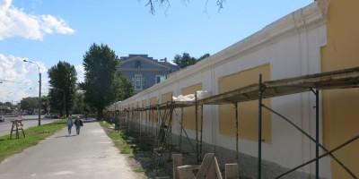 Ограда Обуховской больницы