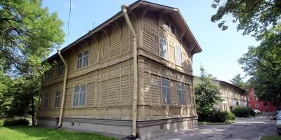 Флигель дома Гербольдта в Петергофе на Санкт-Петербургском проспекте, 25а